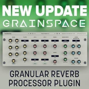 New Update: Audiority announce new GrainSpace V2 update