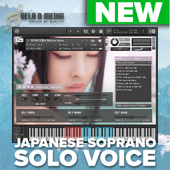 NEW RELEASE: Bela D Media Native Voice Sora