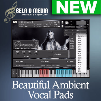 NEW RELEASE: Bela D Media Paravox X Ambient Vocal Design