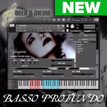 NEW RELEASE: Bela D Media Vampiric - Save 50% off MSRP only £43/€48/$49!!