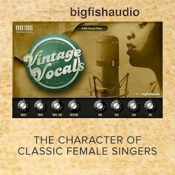 Big Fish Audio Vintage Vocals - Sound On Sound