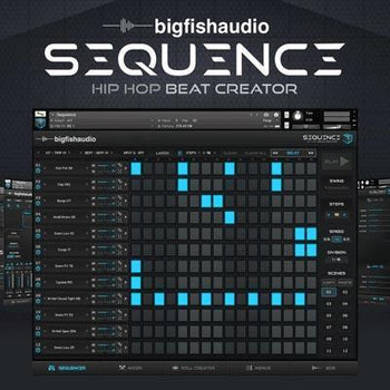New Big Fish Audio Sequence beat creator instrument
