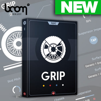 NEW RELEASE - Boom Library Grip