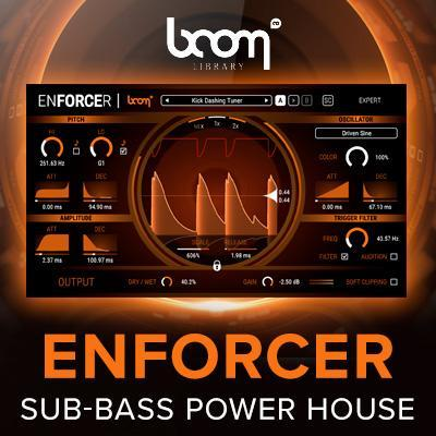 Beef up your bottom end with new Boom Library Enforcer