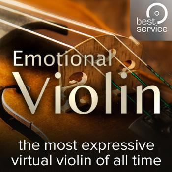 NEW RELEASE: Best Service Emotional Violin is here!