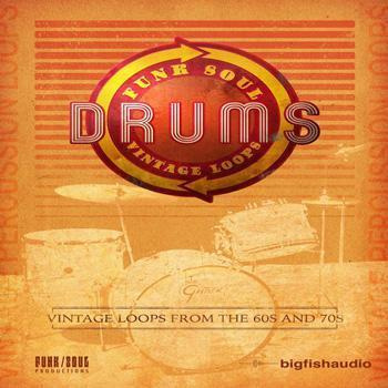 NEW RELEASE: Big Fish Audio release Funk Soul Vintage Drum Loops