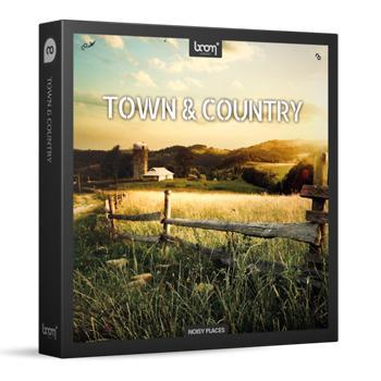 Boom Library Release New Town & Country Sample Pack