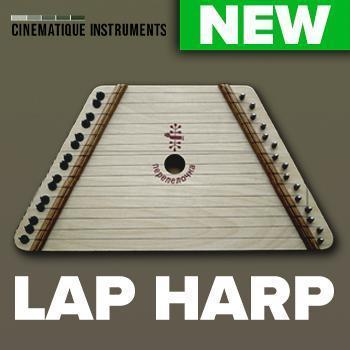 NEW RELEASE: Cinematique Instruments release Lap Harp