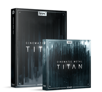 NEW RELEASE: Boom Library Cinematic Metal Titan