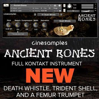 NEW RELEASE: CineSamples Ancient Bones