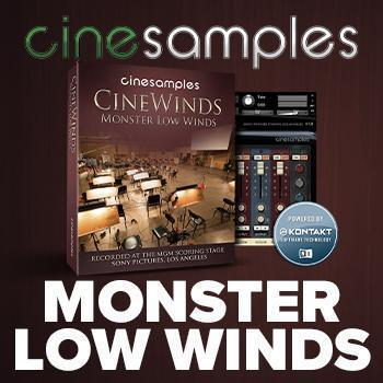 CineSamples Release New CineWinds Monster Low Winds