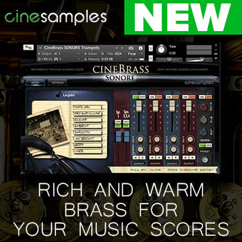 NEW RELEASE: Cinesamples Cinebrass Sonore is here!