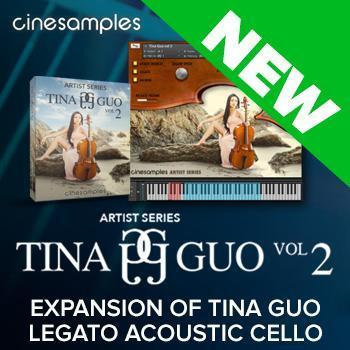 NEW RELEASE: Cinesamples Tina Guo Vol. 2