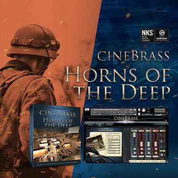 NEW RELEASE: Cinesamples CineBrass Horns of the Deep