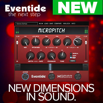 NEW RELEASE: Eventide MicroPitch
