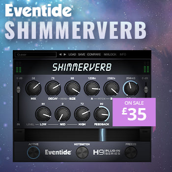 NEW RELEASE: Eventide ShimmerVerb