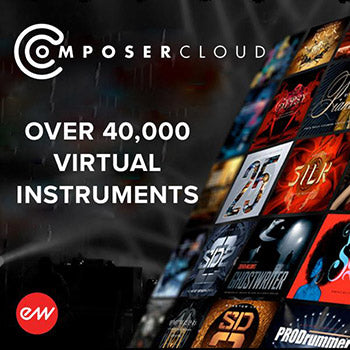 ENDS 31ST JULY - Save up to 47% with Eastwest Composer Cloud X