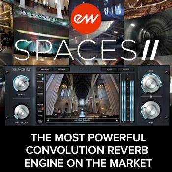 EastWest release Spaces II powerful convolution reverb engine