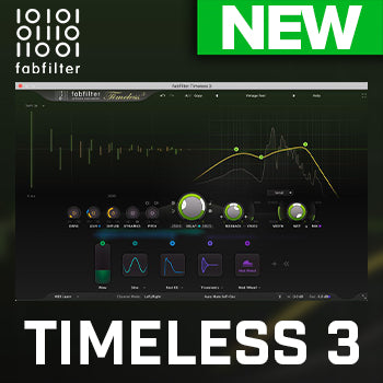 NEW! FabFilter Timeless 3 Delay Plug-in