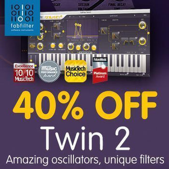 FabFilter Twin 2 - Save 40%