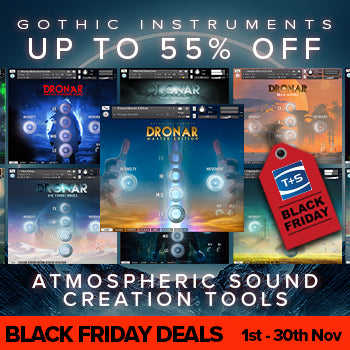 BLACK FRIDAY DEAL - 55% off DRONAR and SCULPTOR atmospheric Kontakt tools