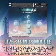 Create a universe of rich emotive sound with new DRONAR Live Strings