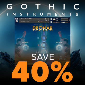ENDS 16TH AUGUST - 40% off DRONAR Master Edition for Kontakt Player