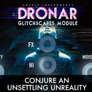 Gothic Instruments release DRONAR Glitchscapes