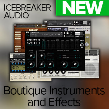 JUST ARRIVED! - Introducing Icebreaker Audio Kontakt instruments