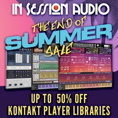 In Session Audio Kontakt instruments have arrived!