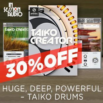 NEW RELEASE: In Session Audio release Taiko Creator Sample Library