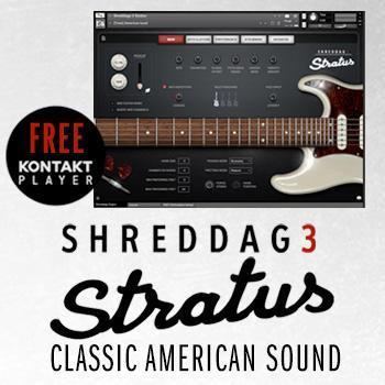 NEW RELEASE: Impact Soundworks Shreddage 3 Stratus