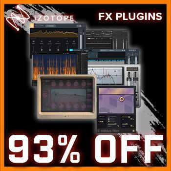 NEW RELEASE: iZotope Black Friday Bundle