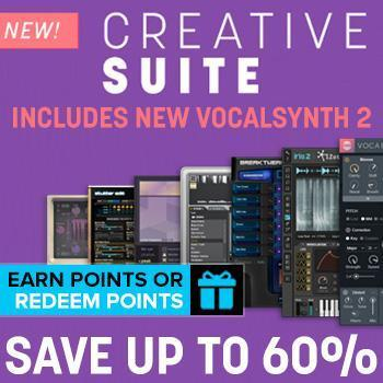 Ends 28th June - Up to 60% off new iZotope VocalSynth 2 and Creative Suite