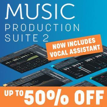 ENDS 31ST DECEMBER - Save up to 50% on iZotope MPS 2 includes Nectar 3