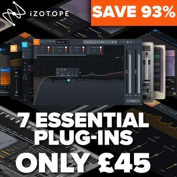 'MAKE MUSIC DAY' with iZotope & T+S!! Special NEW Music Essentials Bundle Only £34/€49/$49