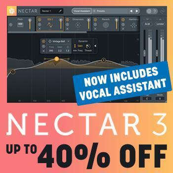 NEW RELEASE: iZotope release Nectar 3 - now includes vocal assistant