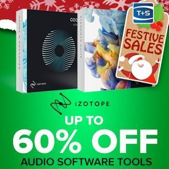 ENDS 31ST DECEMBER - Save up to 60% on iZotope Instrument & Effects Plugins