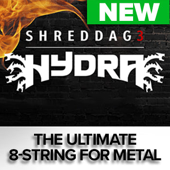 NEW RELEASE: Impact Soundworks Shreddage 3 Hydra