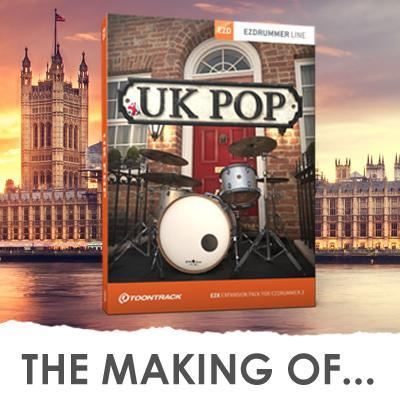 Producing the Toontrack UK Pop EZX