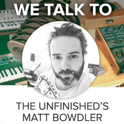 We chat to Matt Bowdler aka 'The Unfinished'