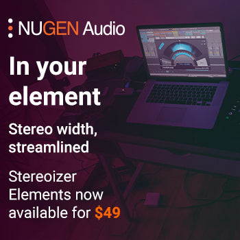 NEW RELEASE: Nugen Audio Stereoizer Elements