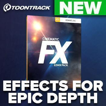 NEW RELEASE! Cinematic FX EZmix Pack - Effects for Epic Death