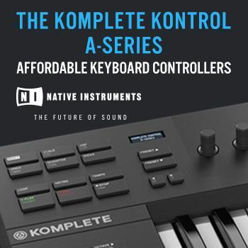 NEW RELEASE: Native Instruments A-Series Keyboards