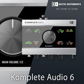NEW UPDATE: Native Instruments have updated Komplete Audio 6!