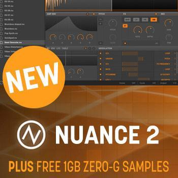 New Release - New Sonic Arts Nuance 2 - The Creative Sampler