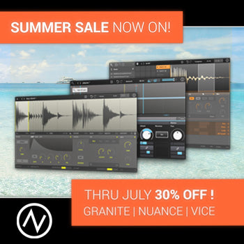 ENDS 30TH JULY - 30% off New Sonic Arts creative software