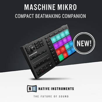 Native Instruments Maschine Mikro Mk3 now available