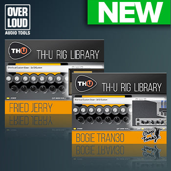 NEW RELEASE: Overloud adds 2 new TH-U expansions