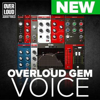 NEW RELEASE: Overloud GEM Voice vocal processing plug-in